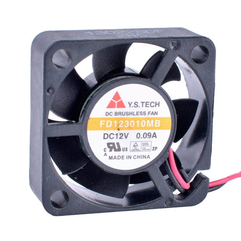 Y.S.TECH FD123010MB 3010 30mm fan 30x30x10mm 12V 0.09A Double ball bearing silent cooling fan