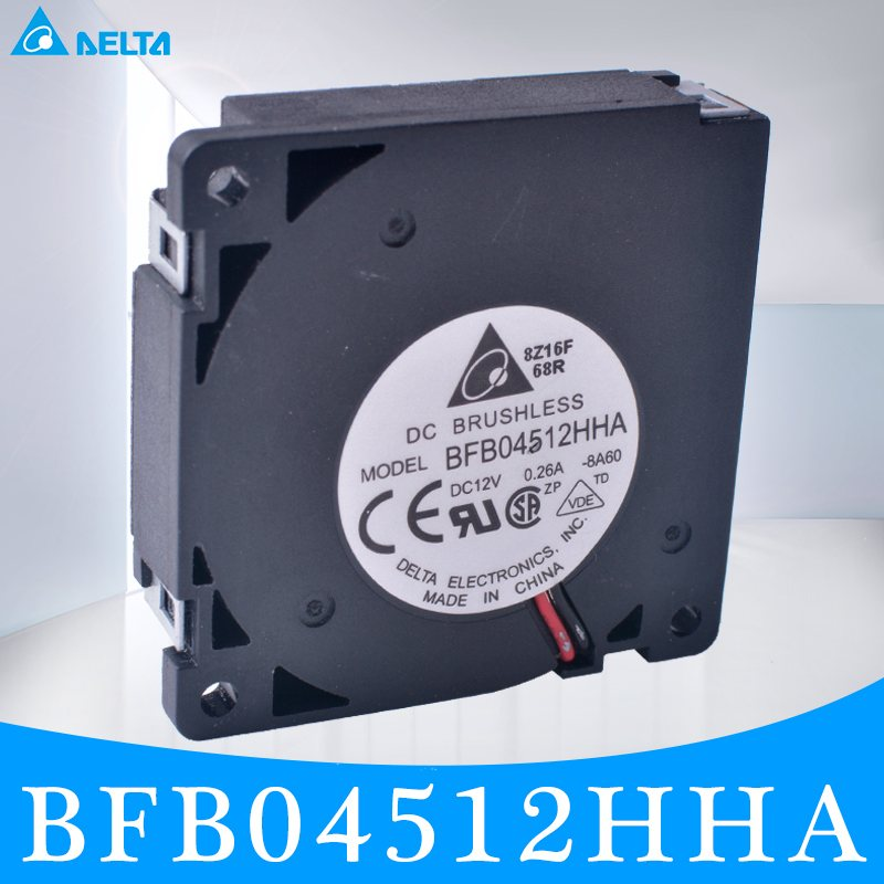 DELTA BFB04512HHA 4.5CM 45mm fan 45x45x10mm 4510 turbofan blower 12V 0.26A The best DIY option