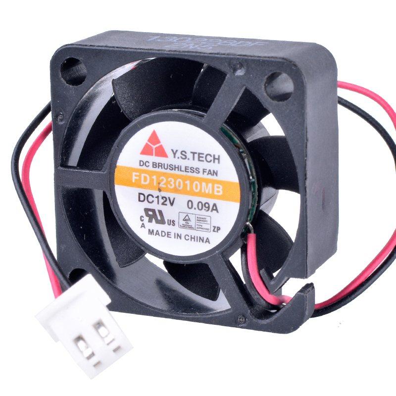 Y.S.TECH FD123010MB 3010 30mm fan 30x30x10mm 12V 0.09A Double ball bearing silent cooling fan