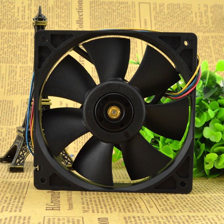 Delta  AFC1248D DC48V 0.48A double ball 12CM industrial fan