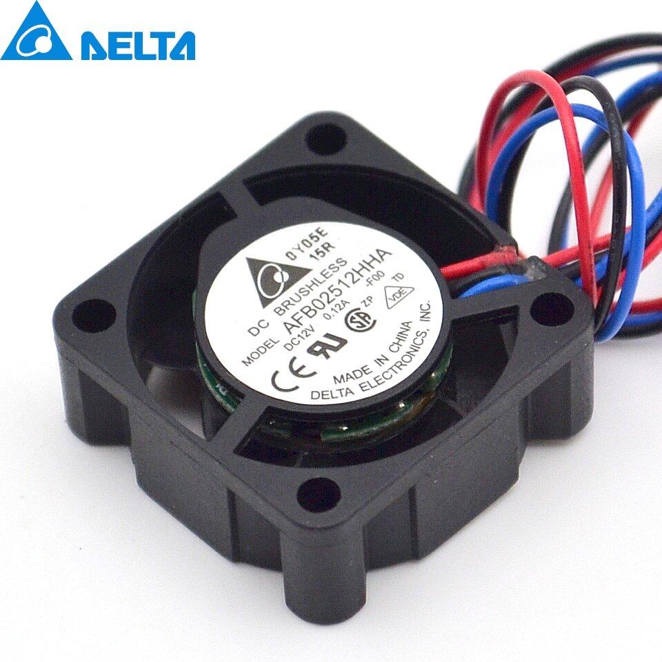 Delta AFB02512HHA 12V 0.12A cpu cooler heatsink axial Cooling Fan