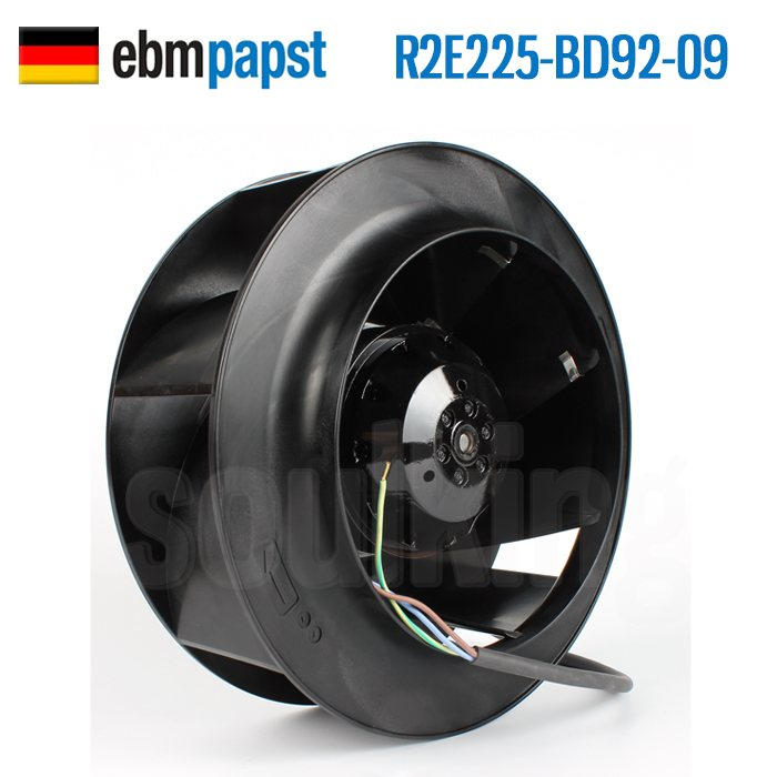 ebmpapst R2e225-bd92-09 230V 0.60A centrifugal cooling fan