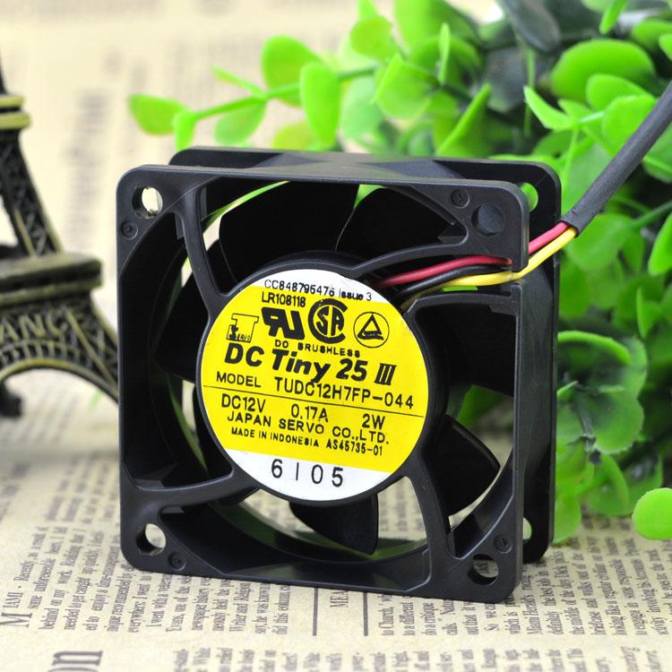 SERVO TUDC12H7FP-044 0.17A double ball bearing cooling fan
