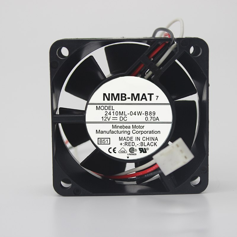 NMB-MAT 2410ML-04W-B70 B79 B86 B89 6CM 12v cooling fan