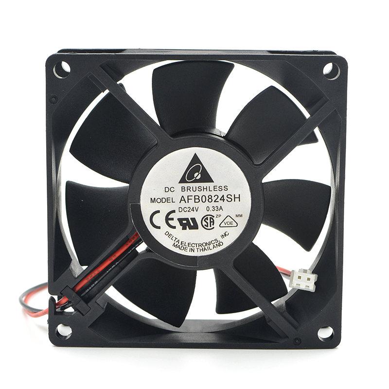 Delta AFB0824SH  24V 0.33A 8CM  Inverter cooling Fan