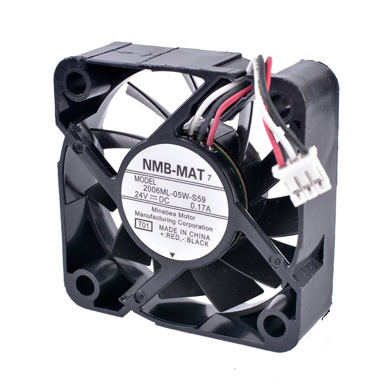 NMB 2006ML-05W-S59 24V 0.17A 3 line  inverter industrial cooling fan