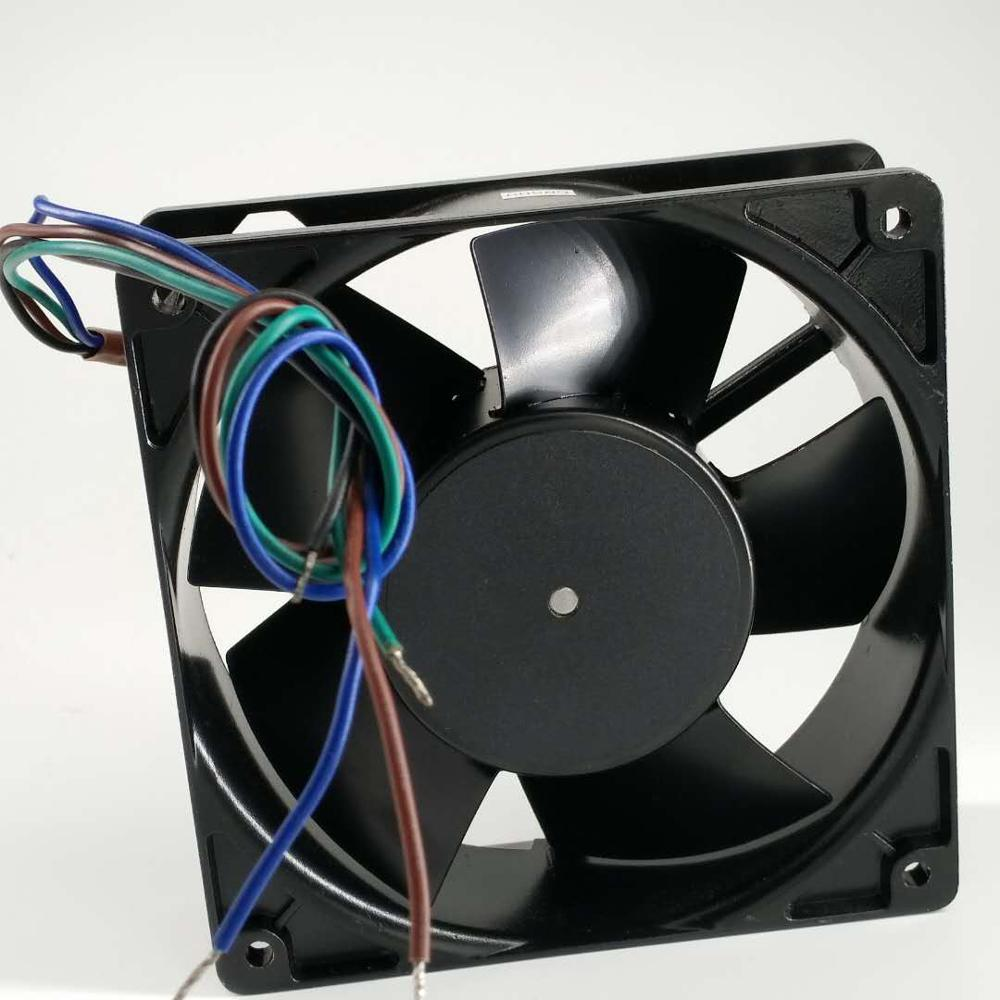 Bi-sonic 4E-DVB AC115/230V 4-wire All metal Dual voltage cooling fan