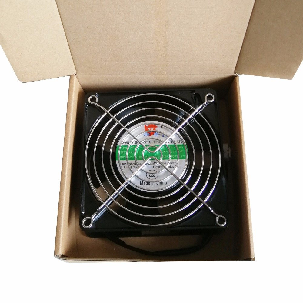 YT12038HSL2 220V 120X120X38mm Low Noise Axial Cooling Fan