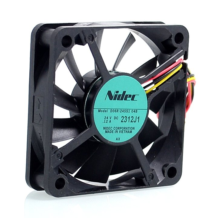 Nidec D06R-24SS1 0.12A 24V 60*60*15mm 3-wire inverter fan