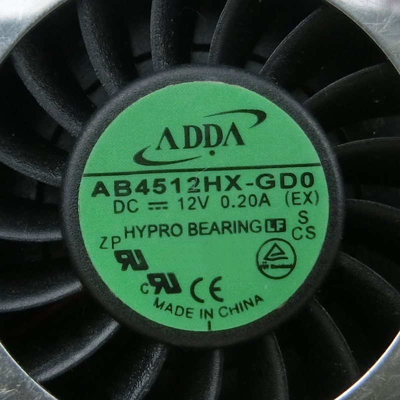 ADDA AB4512HX-GD0 DC12V 0.2A turbo blower centrifugal fan