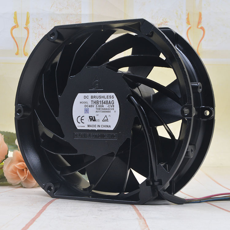 Delta THB1548AG 172*150*50mm 48V 3.60A Auto turbocharging cooling fan