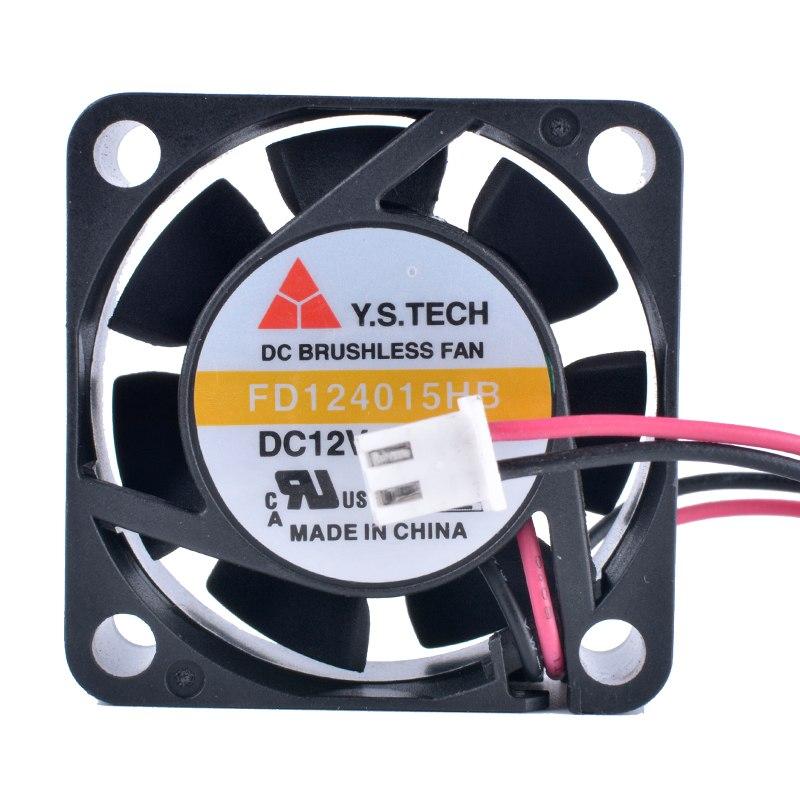 Y.S.TECH FD124015HB 12V 0.16A Double ball bearing cooling fan