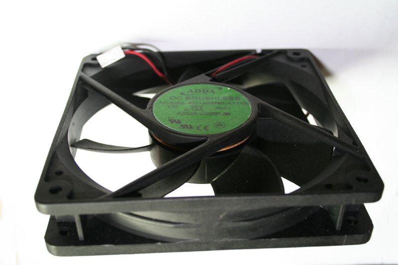ADDA  AD1224HX-A71GL 12CM DC24V 0.24A 2line inverter cooling fan