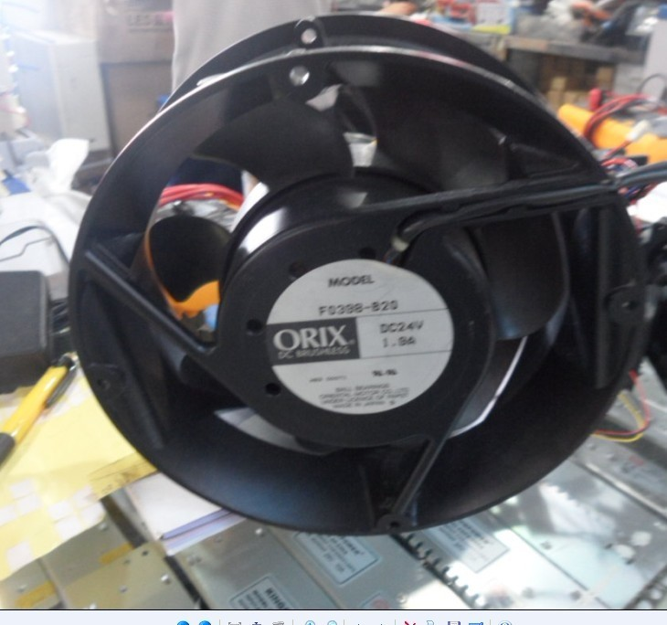 ORIX Eastern F0398-B DC24V 1.9A 4P cooling fan