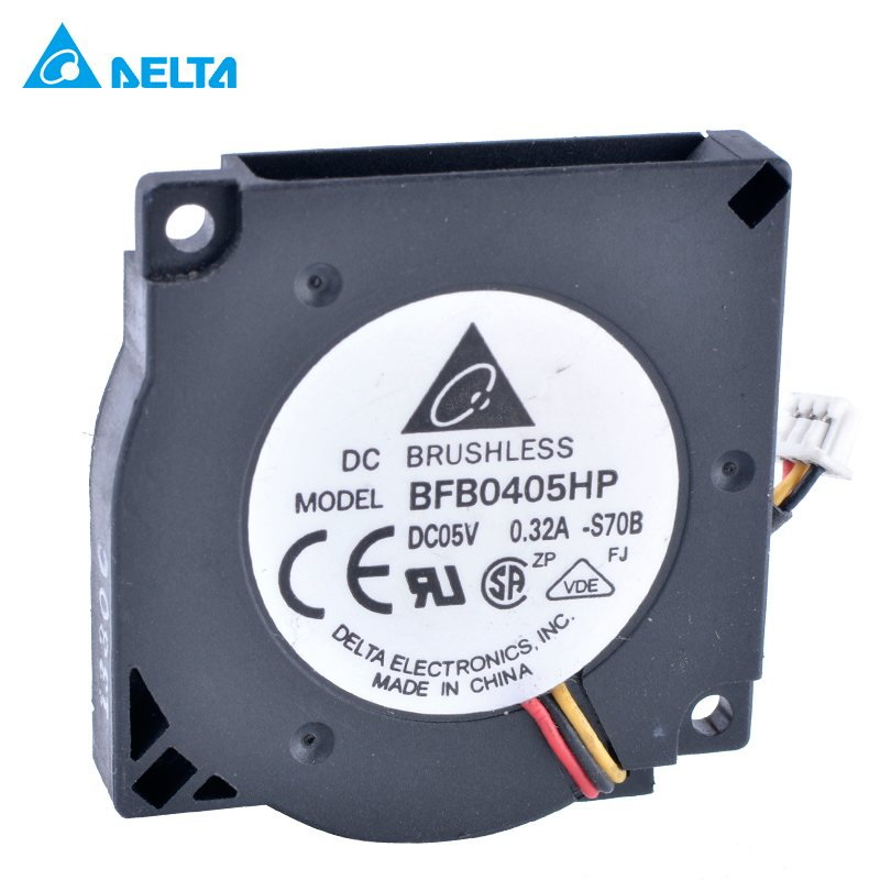 DELTA BFB0405HP 5V 3.3V 0.32A 3.5CM cooling fan