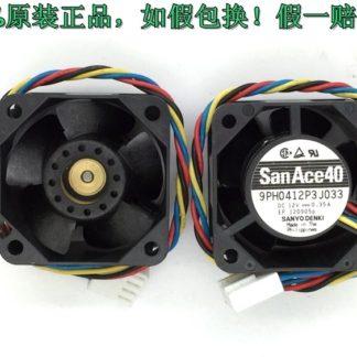 Sanyo 9PH0412P3J033 12V 0.35A double ball bearing cooling fan