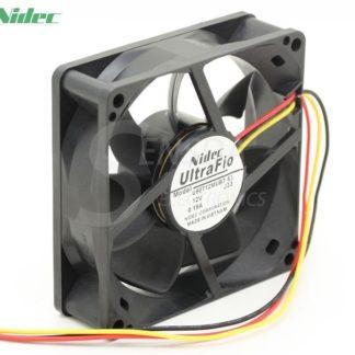 NIDEC U80T12MUB7-53  80mm DC12V 0.19A server inverter axial cooling fans