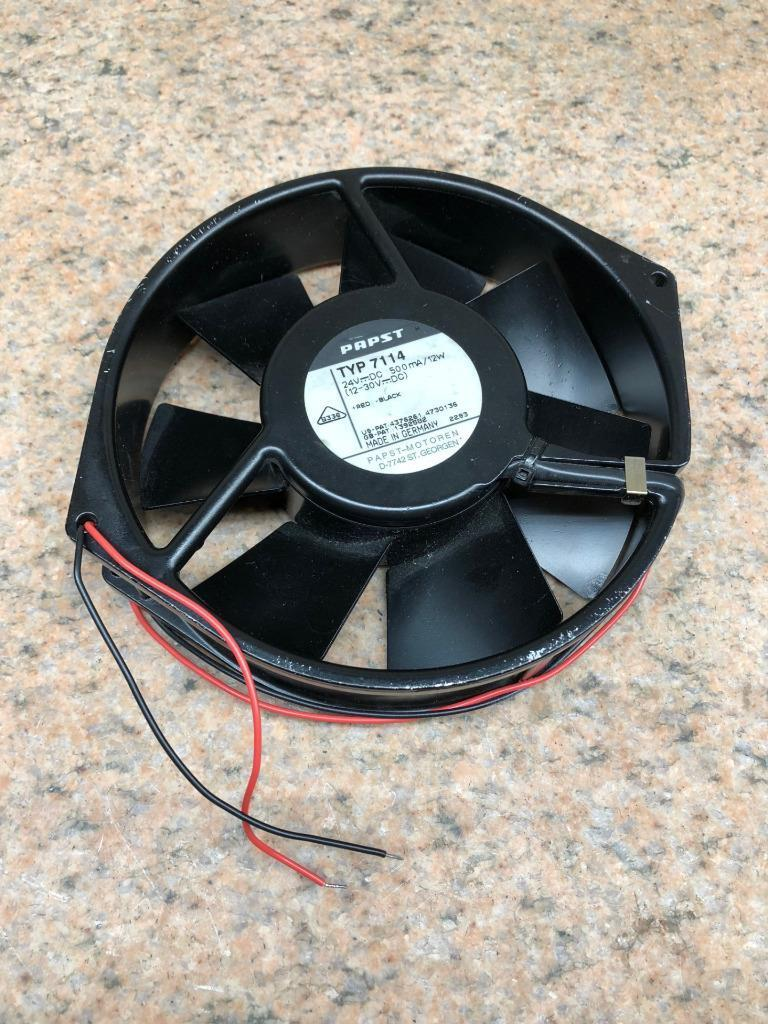 EBM Papst Type 7114 Axial Fan