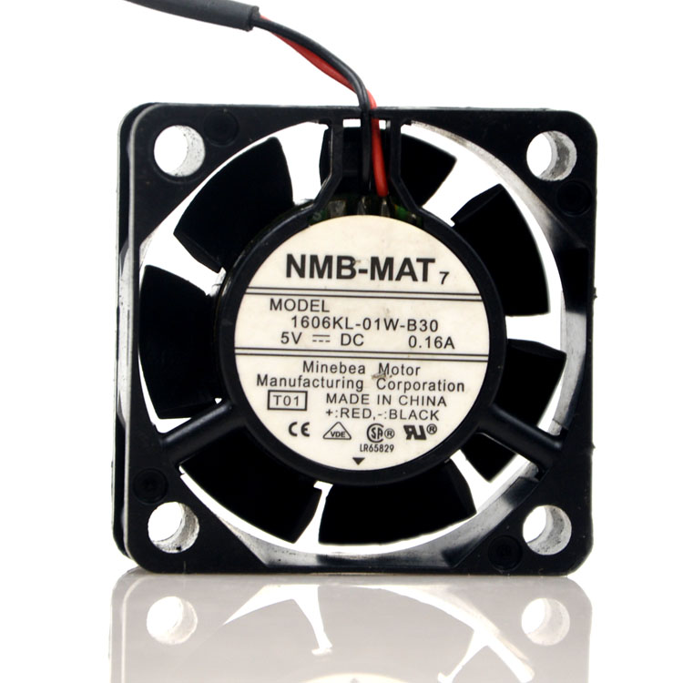 NMB 1606KL-01W-B30 5V 0.16A 4CM large air volume USB power supply fan
