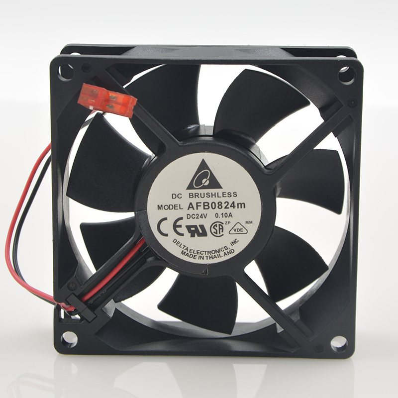 Delta AFB0824M 24V 0.10A 8CM inverter inverter cooling fan