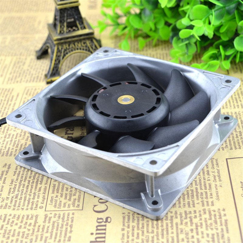 Sanyo 9SG1212P1G03 DC12V 4A  4-wire cooling fan
