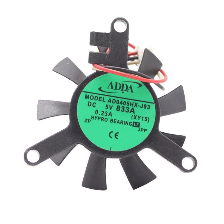 ADDA AD0405HX-J93 DC 5V 0.23A 3-wires cooling fan