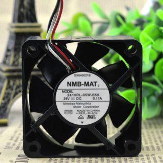 NMB 2410RL-05W-B59 60*60*25 24V 0.11A 6CM 3wire inverter fan
