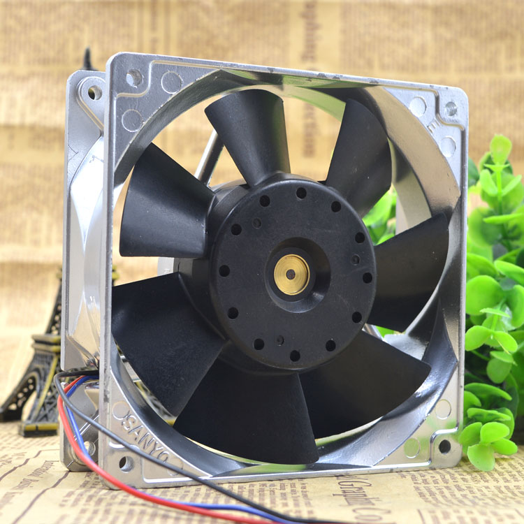 Sanyo 109E1224A105  12cm DC24V 0.25A cooling fan