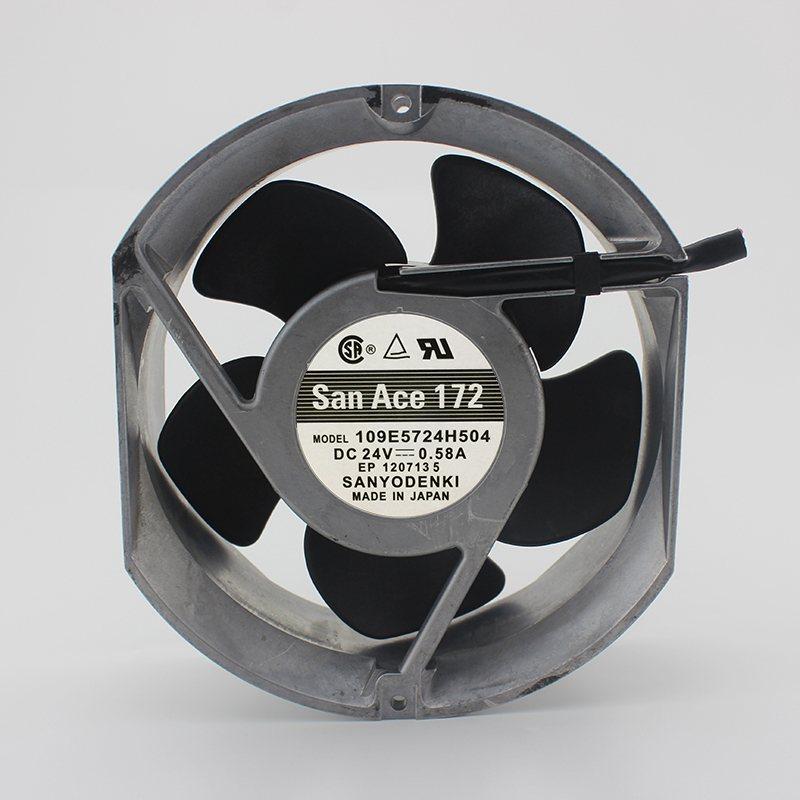 SANYO 109E5724H504DC24V 0.58A cooling fan