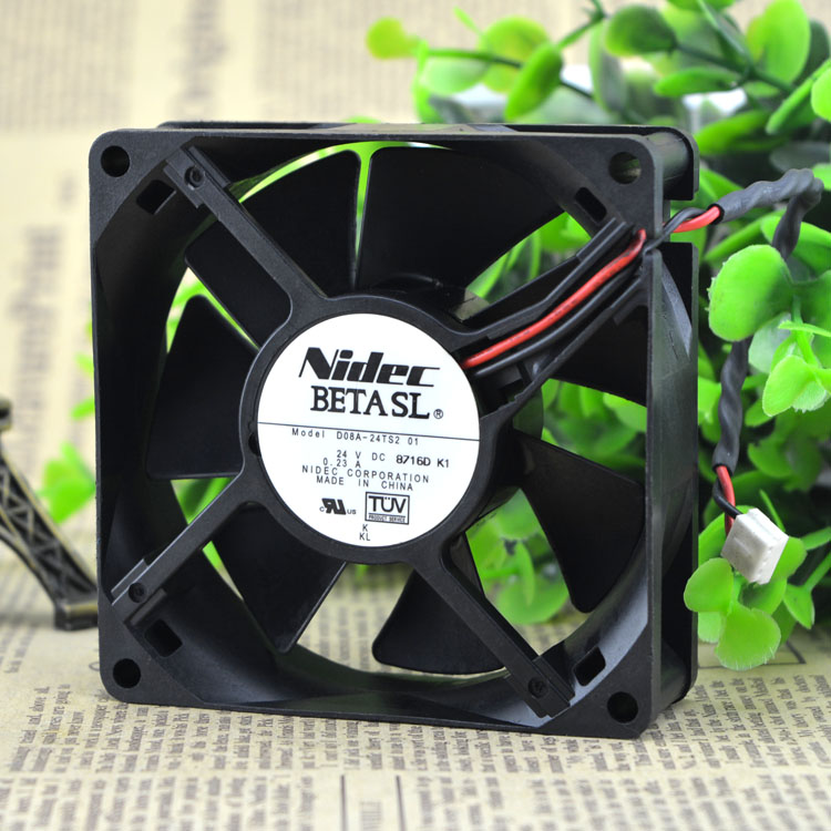 NIDEC D08A-24TS2 01 24V 8CM 80X25MM inverter cooling fan
