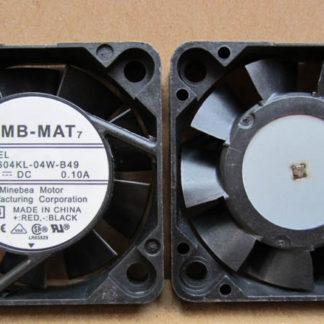 NMB 1604kl-04w-b49 12V 0.10a tachometer signal dual ball cooling fan