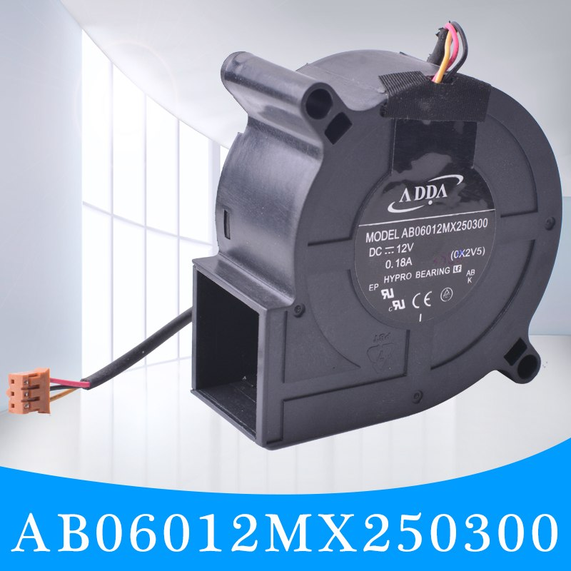 ADDA AB06012MX250300 DC12V 0.18A BenQ Projector Cooling Fan
