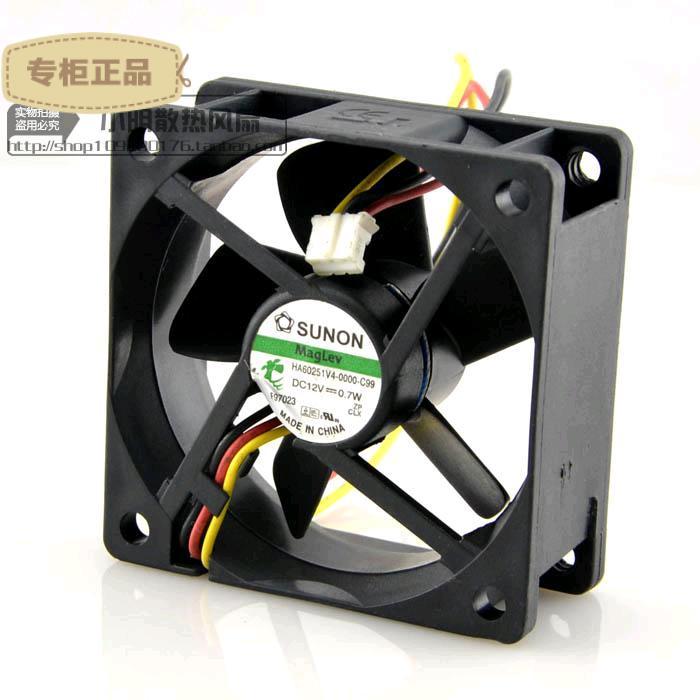 Sunon HA60251V4-0000-C99  DC fan 12V 0.7W Maglev silent fan