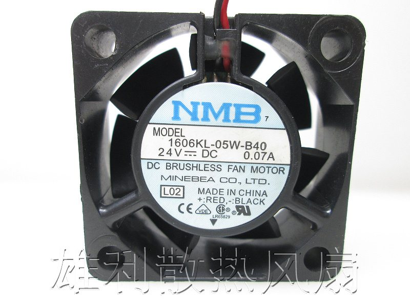 NMB 1606KL-05W-B40 4015 DC24V 0.07A Inverter cooling fan