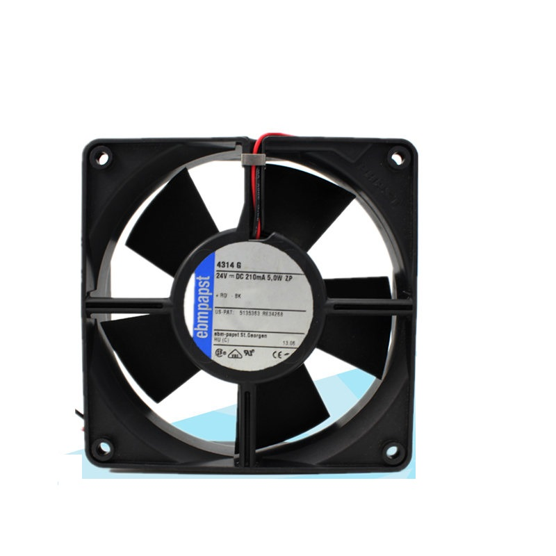 ebmpapst 4314G 24V 0.21A  12cm axial cooling fan