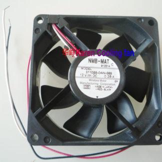 NMB 3110SB-04W-S69  8CM 12v 0.28a 2wire colling fan