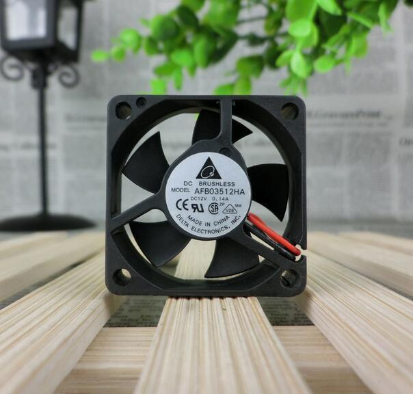 Delta AFB03512HA 3.5CM DC12V 0.14A 2-wire double ball bearing fan
