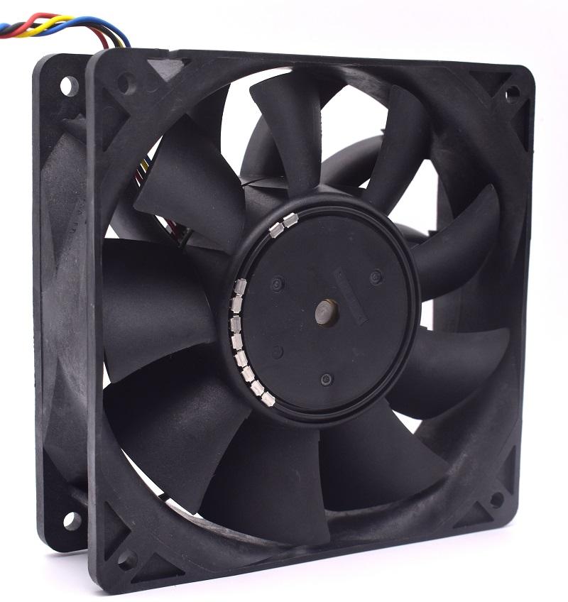 Nidec V12E48BS8M9-07 48V 1.55A 1*1*38mm 4-P pwm case cooling fan