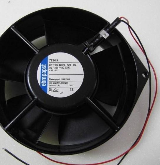 ebmpapst 7214N  DC24V 12W wind capacity axial fan