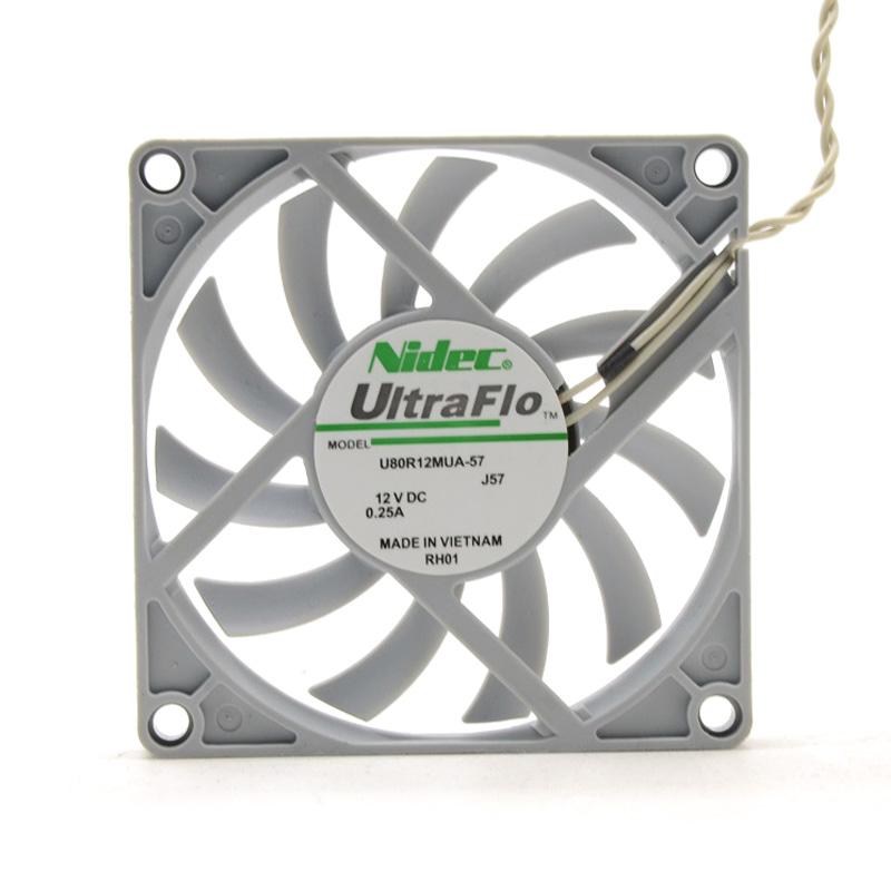 Nidec U80R12MUA-57 12V 0.25A Super Silent fan