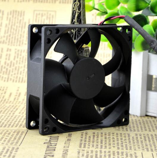 AVC DS08025B12U 8CM DC12V 0.70A  2-wire double ball cooling fan