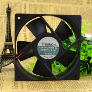 SUNON KDE2412PTB3-6A 24V 3.1W 12CM 2-wire inverter cooling fan