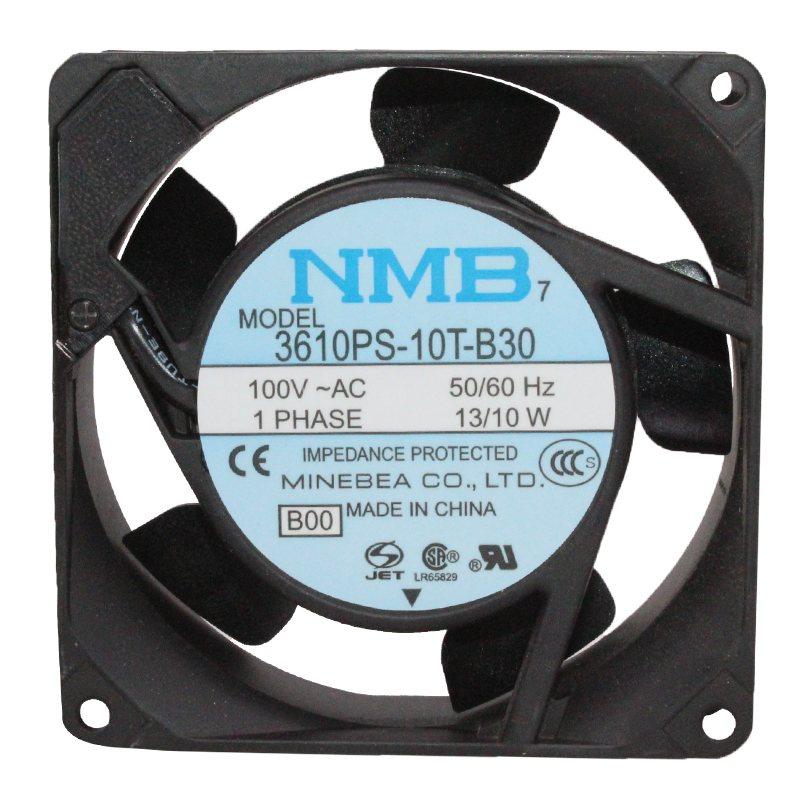 NMB 3610PS-10T-B30 AC 100V 13W Double ball bearing cooling fan