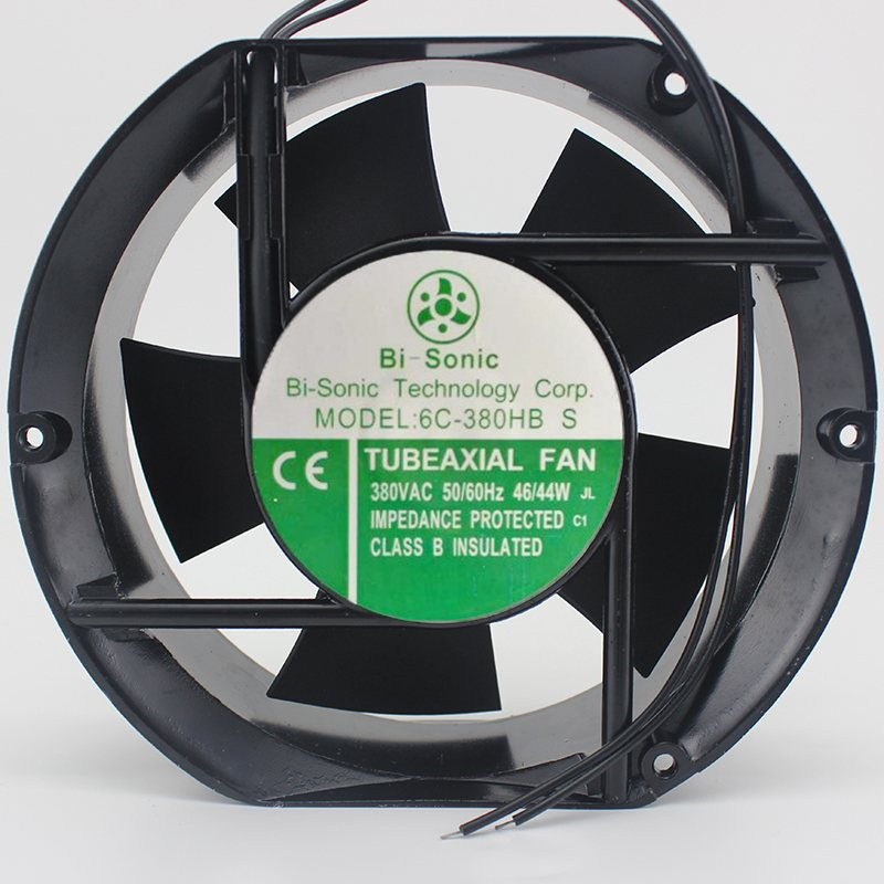 Bi-Sonic 6C-380HB S AC380V 17cm Gale volume High-power cooling fan
