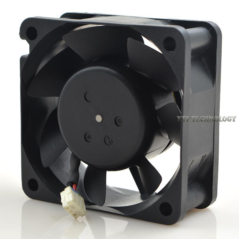 Nidec D06A-24TS8 01 24V 0.15A 6CM 2-wire dual ball bearing fan