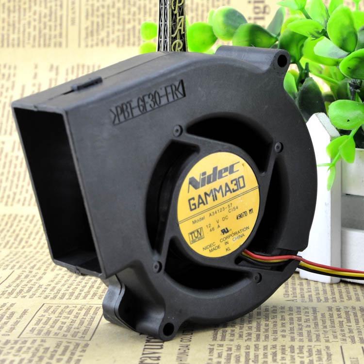 Nidec A34123-57 12V DC 0.46A cooling fan