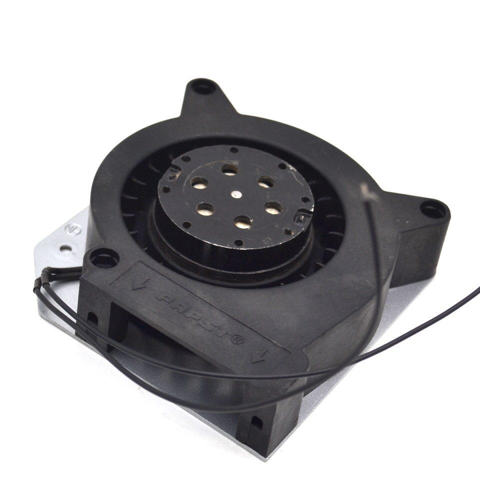 ebmpapst TYP RL90-18/50 115v 21w 12cm worm gear high temperature fan