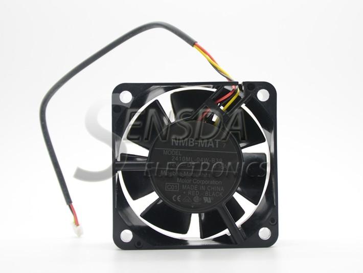 NMB 2410ML-04W-B39  60mm 12V 0.16A 3Wire server inverter cooling fan