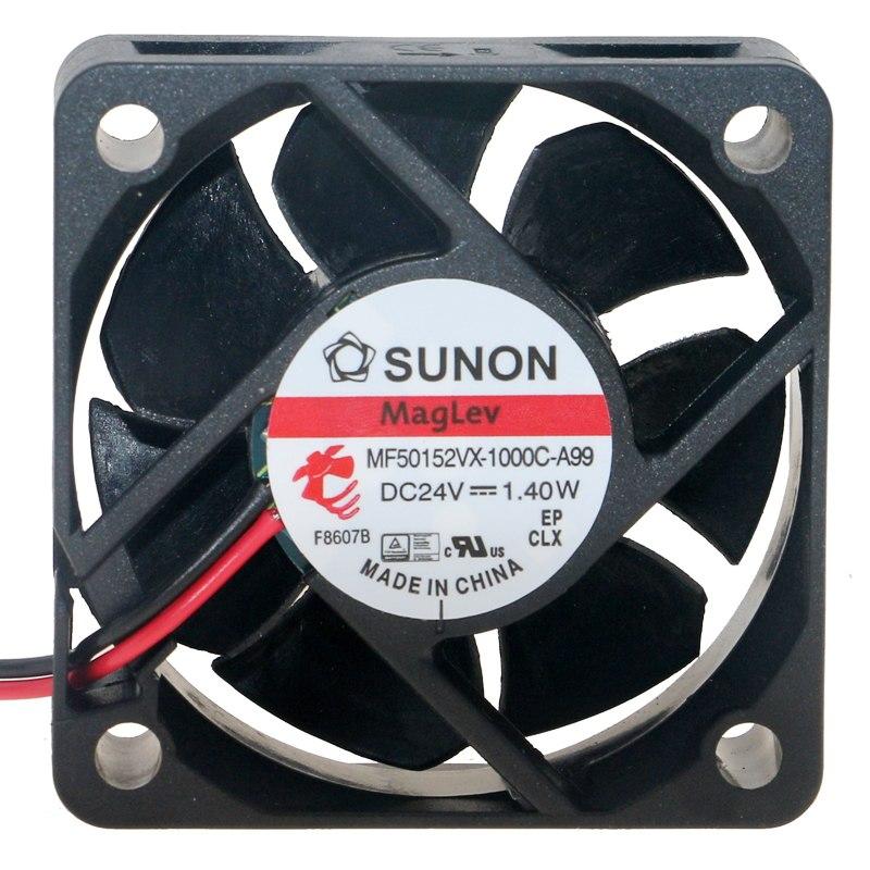 SUNON MF50152VX-1000C-A99 DC 24V 1.40W Small inverter equipment cooling fan