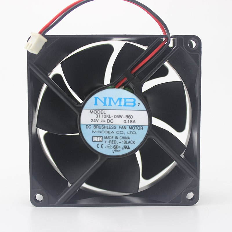 NMB 3110KL-05W-B60 8cm 24V 0.18A ultra-durable inverter fan
